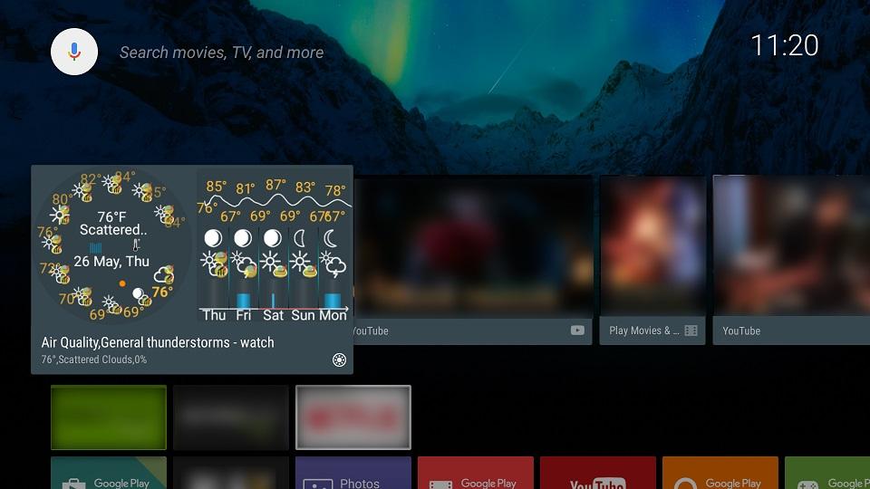 eWeather TV