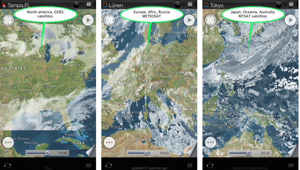 eWeather HD: weather app for iPhone and iPad user's manual