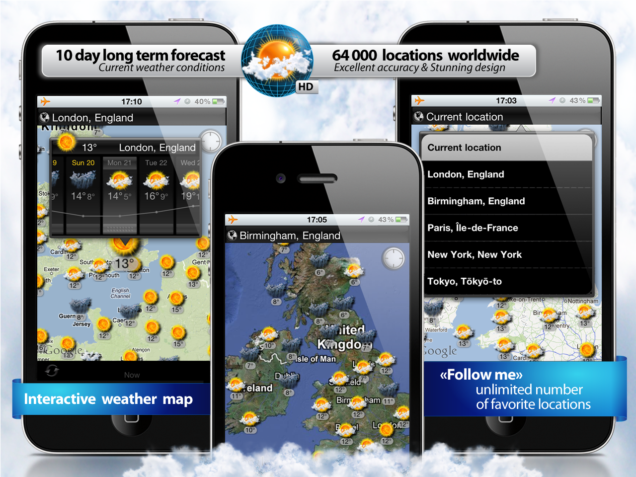 New Interactive Weather Map app for iPhone and iPad prMac