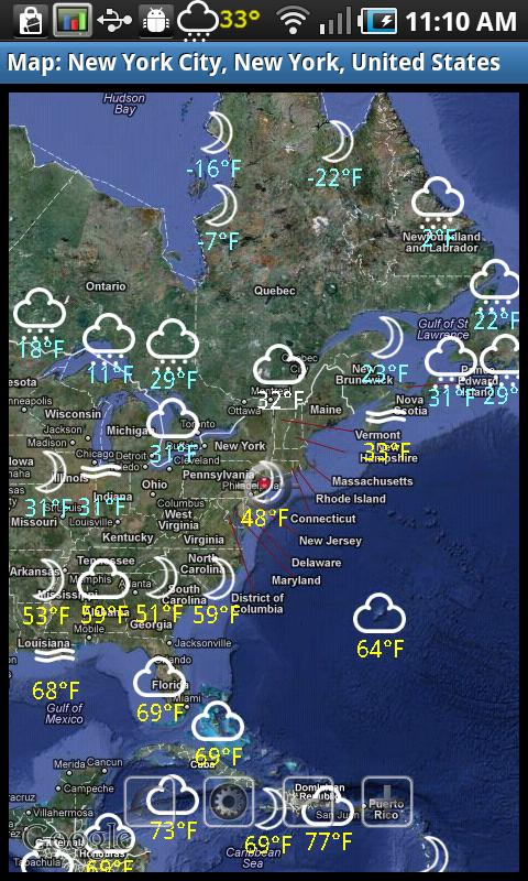 eWeather HD - weather, hurricanes, alerts, radar v7.7.6 ...
