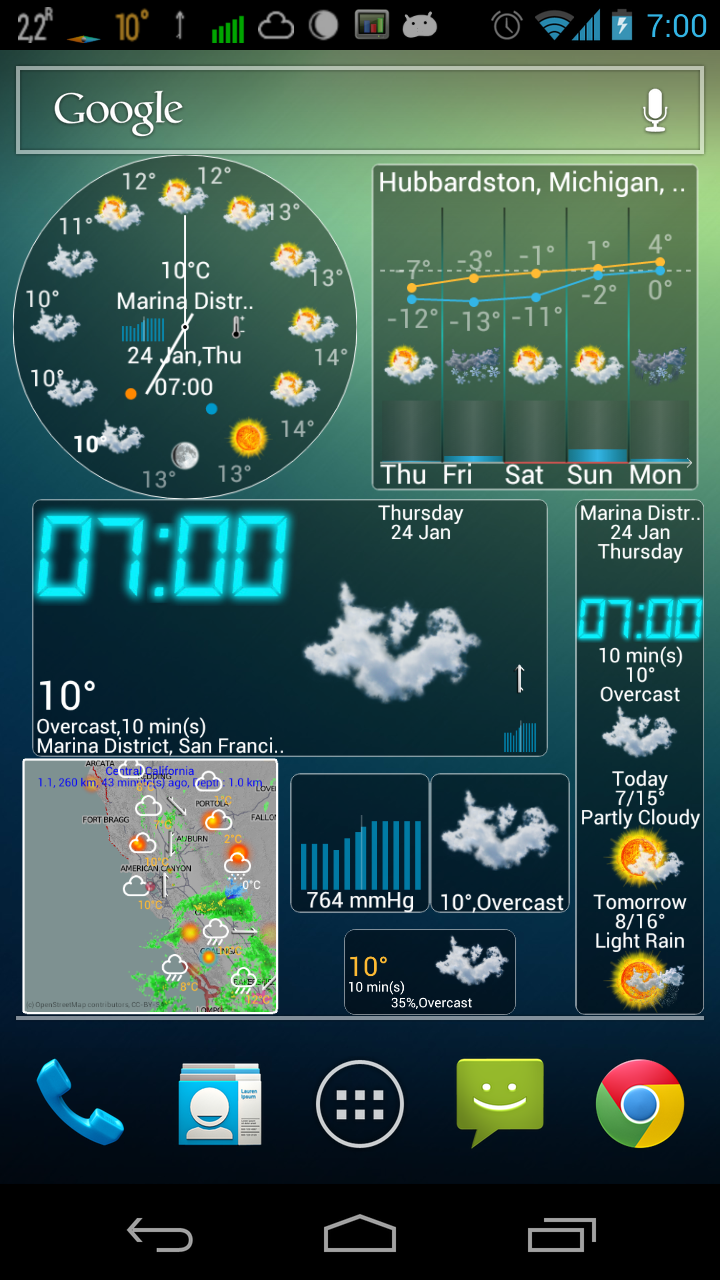 Eweather Hd 4 4 For Android Released