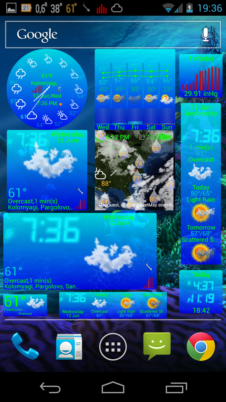 eWeather HD 4.9 for Android released