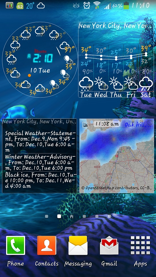 eWeather HD 5.2 for Android released